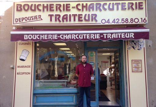 Photo de la Boucherie Dépousier à Gréasque